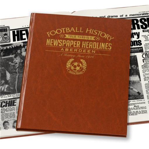 A3 Aberdeen Football Newspaper Book