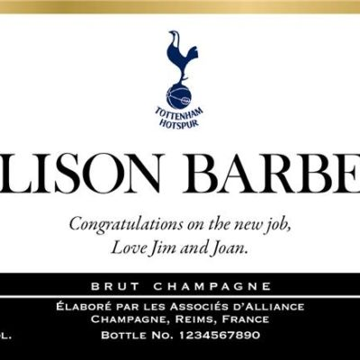 personalised classic spurs