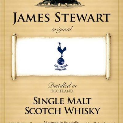 personalised spurs historic labels for single malt whisky