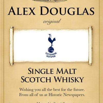 personalised spurs traditional labels for single malt whisky 1