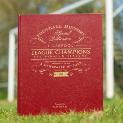 Liverpool League Champions – The Winning Seasons Newspaper Book