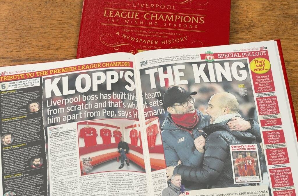 Football Book Gifts   The Ideal Gift for that Football Fanatic