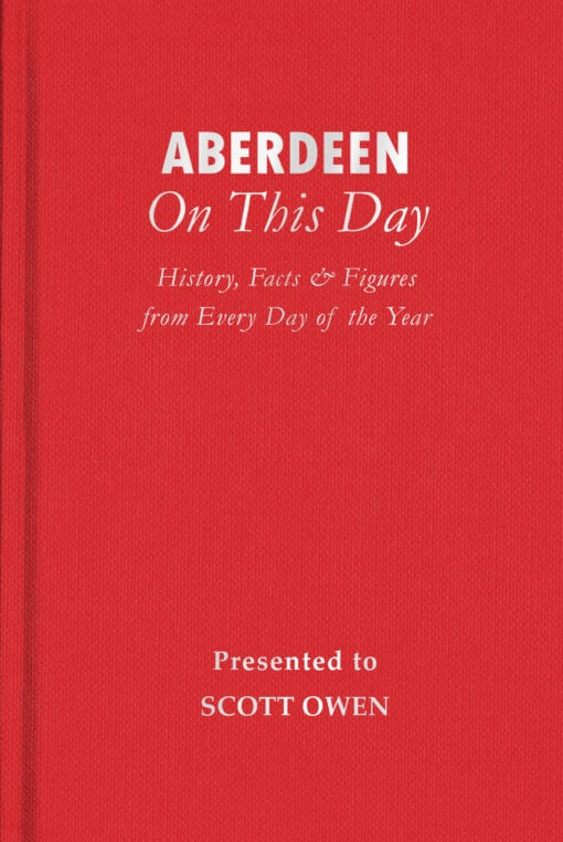 Aberdeen On This Day Cover flat 1
