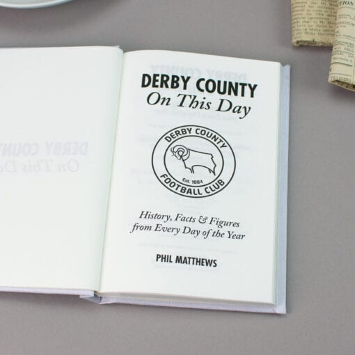 Derby County On This Day spread