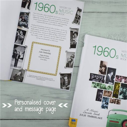 Music Decade 1960 Cover Message Coll oute1