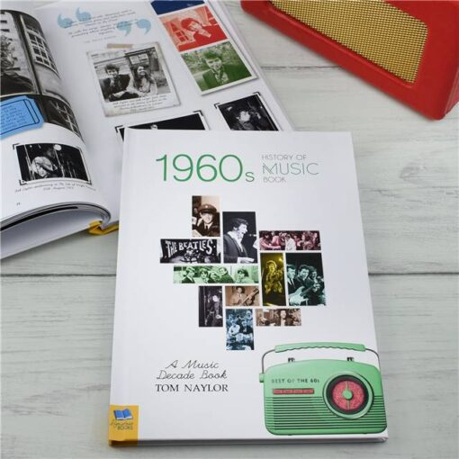Music Decade 1960 Cover Spread Radio 2