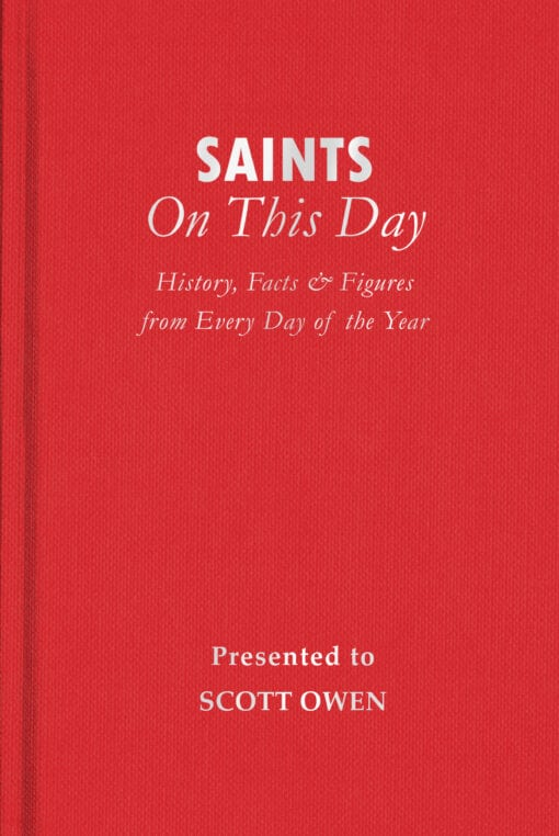 Saints On This Day Cover flat 1