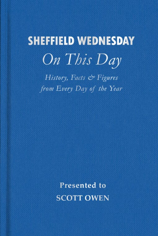 Sheffield Wednesday On This Day Cover flat 1