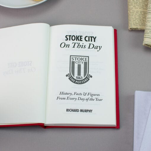Stoke City On This Day spread