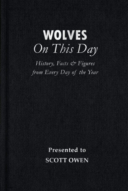 Wolves On This Day Cover flat 1