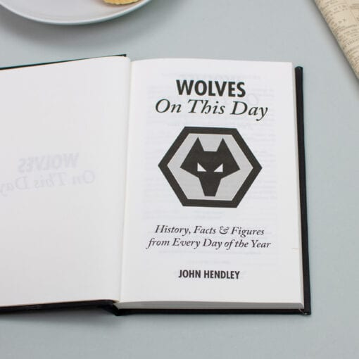 Wolves On This Day spread